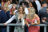 Press Eye - Belfast - Northern Ireland - 7th May 2018  - . May Day Meeting at Down Royal Racecourse.. Racegoers pictured at the County Down racecourse.. Photo by Kelvin Boyes / Press Eye .