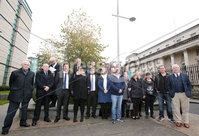 Press Eye -Belfast - Northern Ireland - 6th November 2017 . Relatives of a number of victims murdered by the loyalist Glenanne Gang appear at the High Court for a formal declaration that police breached their human rights by not completing a major report in the killings.. . Photo by Jonathan Porter / Press Eye..