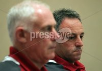 Ireland Rugby Press Conference, Crowne Plaza Hotel, Auckland, New Zealand 11/6/2012. Ireland assistant coach Mark Tainton during the press conference. Mandatory Credit ©INPHO/Billy Stickland