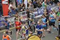 7th May 2018. 37th Deep RiverRock Belfast City Marathon . Runners  pictured at the marathon. Mandatory Credit ©Presseye/Stephen Hamilton