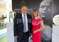 Press Eye - Belfast - Northern Ireland - 8th September 2018 - . James and Margaret Tinsley pictured at the Archbishop's Palace in Armagh along with friends and family of Dr Rory Best OBE to witness the sportsman's conferment with the Freedom of the Borough of Armagh City, Banbridge and Craigavon..  . Photo by Kelvin Boyes / Press Eye..