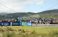 2018 Dubai Duty Free Irish Open, Ballyliffin Golf Club, Co. Donegal 8/7/2018. Erik van Rooyen tees off on the 1st . Mandatory Credit ©INPHO/Oisin Keniry