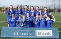 Press Eye - Belfast - Northern Ireland - 8th February 2018. IFA school girls football competition at Allen Park in Antrim.  . St Genevieve\'s, Belfast Vs Holy Cross, Strabane.. Holy Cross win.. Picture by Jonathan Porter/PressEye