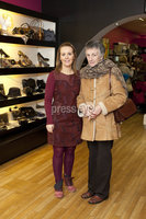 ©Press Eye Ltd - Northern Ireland - 10th December 2011. Mandatory Credit - Photo by Andrew Paton/Presseye.com, Launch of Carin\'s brand new boutique. (LtoR) Olga McCarney proprietor with her mother in law Mary McCarney