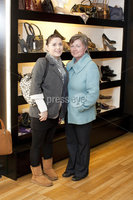 ©Press Eye Ltd - Northern Ireland - 10th December 2011. Mandatory Credit - Photo by Andrew Paton/Presseye.com, Launch of Carin\'s brand new boutique. Caragh McLaughlin and Christine McLaughlin