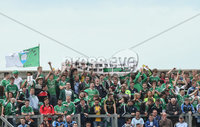 GAA Football All Ireland Senior Championship Quarter-Final, Croke Park, Dublin 2/8/2015. Dublin vs Fermanagh. Fermanagh fans. Mandatory Credit ©INPHO/James Crombie.