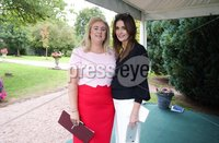 Press Eye - Belfast - Northern Ireland - 8th September 2018 - . Claire Shields and Katie Best pictured at the Archbishop's Palace in Armagh along with friends and family of Dr Rory Best OBE to witness the sportsman's conferment with the Freedom of the Borough of Armagh City, Banbridge and Craigavon..  . Photo by Kelvin Boyes / Press Eye..