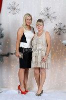 Press Eye Belfast - Northern Ireland - Wednesday 14th December 2011 -IN! Magazine Christmas Party at the Merchant Hotel. Picture by Kelvin Boyes / Press Eye.. Samantha Cochrane and Ciara O\'Kane