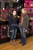 ©Press Eye Ltd - Northern Ireland - 10th December 2011. Mandatory Credit - Photo by Andrew Paton/Presseye.com, Launch of Carin\'s brand new boutique. Kerry Quinn and Grainne Quinn