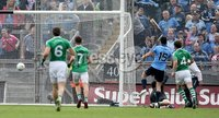 GAA Football All Ireland Senior Championship Quarter-Final, Croke Park, Dublin 2/8/2015. Dublin vs Fermanagh. Dublin\'s Bernard Brogan scores the first goal of the game. Mandatory Credit ©INPHO/Donall Farmer