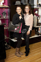 ©Press Eye Ltd - Northern Ireland - 10th December 2011. Mandatory Credit - Photo by Andrew Paton/Presseye.com, Launch of Carin\'s brand new boutique. (LtoR) Paula Mallaghan and Avanda Hughes proprietor
