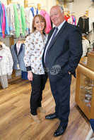Philip Magowan Photography - Northern Ireland - 19th May 2017. Pictured: David Simpson MP with Yvonne Jackson of Brown Bear, Banbridge.. Picture: Philip Magowan