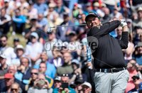 2018 Dubai Duty Free Irish Open - Day 1, Ballyliffin Golf Club, Co. Donegal 5/7/2018. Shane Lowry tees off at the eighth hole. Mandatory Credit ©INPHO/Oisin Keniry