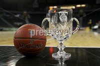 Press Eye - Belfast -  Northern Ireland - 01st December 2018 - Photo by William Cherry/Presseye. The Belfast Classic Cup that Buffalo and San Francisco will play for during Saturday evenings Goliath Championship game of the Basketball Hall of Fame Belfast Classic at the SSE Arena, Belfast.