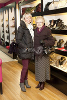 ©Press Eye Ltd - Northern Ireland - 10th December 2011. Mandatory Credit - Photo by Andrew Paton/Presseye.com, Launch of Carin\'s brand new boutique. Agnes Bustard and Carrie Foster
