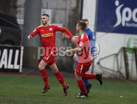 Danske Bank Premiership, Solitude, Belfast 1/12/2018 . Cliftonville vs Dungannon Swifts. Rory Donnelly scored for Cliftonville. Mandatory Credit INPHO/Freddie Parkinson