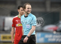 Danske Bank Premiership, Solitude Belfast, Co Antrim 10/03/2018. Cliftonville  vs Crusaders . Referee Keith Kennedy. Mandatory Credit ©INPHO/Stephen Hamilton.