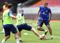 Press Eye - Belfast -  Northern Ireland - 02nd June 2018 - Photo by William Cherry/Presseye. Northern Ireland\'s Gareth McAuley pictured during Saturday mornings training session at the Nuevo Estadio Nacional de Costa Rica in San Jose ahead of Sundays Friendly International against Costa Rica.. Photo by William Cherry/Presseye
