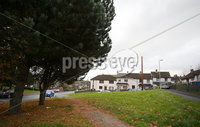 Press Eye - Belfast - Northern Ireland - 17th November 2019. General view of Windmill Gardens in Ballynahinch, Co. Down, where a man, aged in his 40s, was taken to hospital with stab wounds after an incident in the early hours of Sunday morning. Three people were arrested and remain in police custody. . . Picture by Jonathan Porter/PressEye