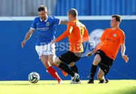 20th September 2014 ©William Cherry / Presseye. Linfield\'s Ivan Sproule with Glenavon\'s Andy Kilmartin during Saturdays Danske Bank Premiership game at Windsor Park, Belfast.