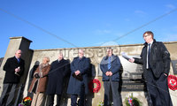 Press Eye Belfast - Northern Ireland 5th January 2018. Memorial service in Kingsmill, Co. Armagh to mark the anniversary of the murder of 10 Protestant workmen by the IRA.  The victims - textile factory workers - were shot dead when an IRA gang ambushed their mini-bus in 1976 near the Co. Armagh village.. Victims campaigner Willie Frazer addresses the crowd. . Picture by Jonathan Porter/PressEye.com