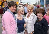 Press Eye - Belfast - Northern Ireland - 15th May 2019 -  DUP leader Arlene Foster with Diane Dodds at the Balmoral Show.. Photo by Brian Little / Press Eye..