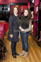 ©Press Eye Ltd - Northern Ireland - 10th December 2011. Mandatory Credit - Photo by Andrew Paton/Presseye.com, Launch of Carin\'s brand new boutique. (LtoR) Colette Corry with her daughter Una Corry