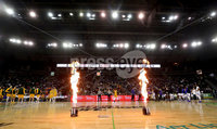 Press Eye - Belfast -  Northern Ireland - 01st December 2018 - Photo by William Cherry/Presseye. Buffalo with San Francisco during Saturday evenings Goliath Championship game of the Basketball Hall of Fame Belfast Classic at the SSE Arena, Belfast.