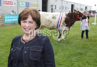 PressEye-Northern Ireland- 15th May  2019-Picture by Brian Little/PressEye. DUP Diane Dodds  at Balmoral Park during the first day of the Balmoral Show 2019. Picture by Brian Little/PressEye