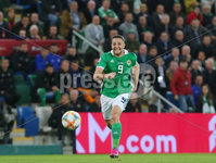 Press Eye - Belfast - Northern Ireland - 9th September 2019 . UEFA EURO Qualifier Group C at the National Stadium at Windsor Park, Belfast.  Northern Ireland Vs Germany. . Northern Ireland\'s  Conor Washington.. Photo by Jonathan Porter / Press Eye.